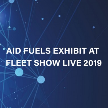 AID Fuels exhibits at Fleet Show Live